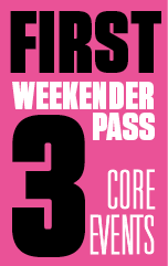 First Weekender Event Pass